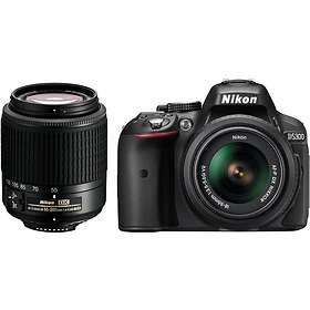 Nikon D5300 + AF-P 18-55/3,5-5,6 VR + 55-200/4,0-5,6 VR II