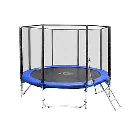 TecTake Trampoline with Safety Net 305cm