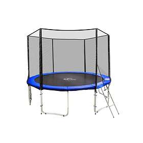 TecTake Trampoline with Safety Net 366cm