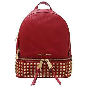 ef3b0941c7b7 Find the best price on Michael Kors Rhea Small Studded Leather ...