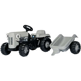 Rolly Toys Kid Little Grey Fergie + Kid Trailer