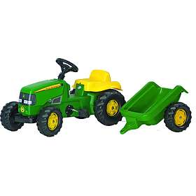 Rolly Toys Kid John Deere + Kid Trailer