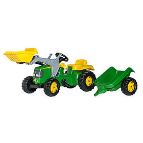 Rolly Toys Kid John Deere + Kid Trailer & Kid Loader