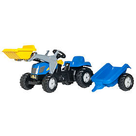 Rolly Toys Kid NH T7040 + Kid Trailer & Kid Loader