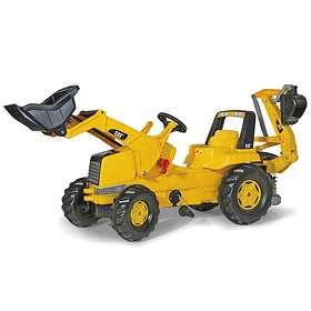 Rolly Toys Junior CAT + Junior Loader & Backhoe
