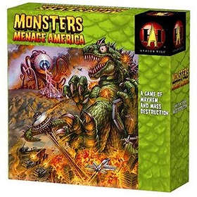Avalon Hill Monsters Menace America