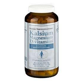 Leader Kalsium magnesium D-Vitamiini 180 Tabletit