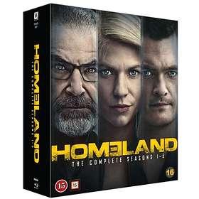 Homeland - Säsong 1-5