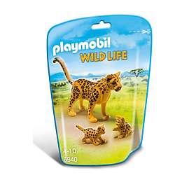 Playmobil Wild Life 6940 Leopard med Ungar