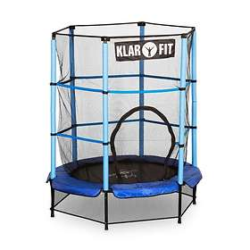 Klarfit Rocket Kid Trampoline With Enclosure 140cm