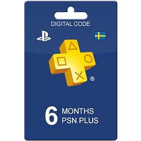 Sony PlayStation Plus 6 Month Subscription Card
