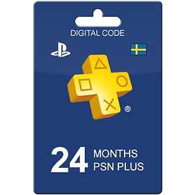 Sony PlayStation Plus 24 Month Subscription Card
