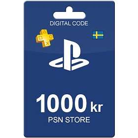 Sony PlayStation Network Card - 1000 SEK
