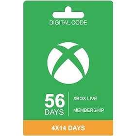 Microsoft Xbox Live 56 Days Membership
