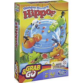 Hasbro Hungry Hungry Hippos: Grab and Go (pocket)