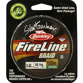 Berkley Fireline Svartzonker Braid 0.35mm 150m