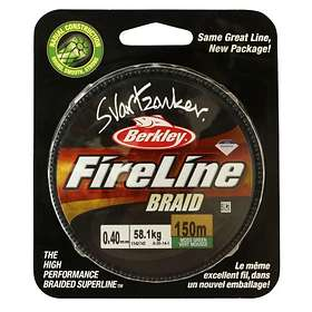 Berkley Fireline Svartzonker Braid 0.20mm 150m