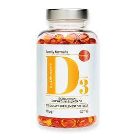 Biosalma Vitamin D3 10mcg 210 Kapslar