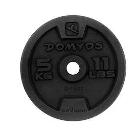 Domyos Cast Iron Weight Disc 28mm 1kg
