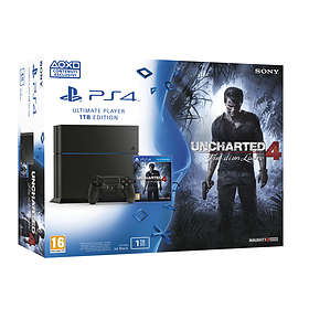 Sony PlayStation 4 1TB (+ Uncharted 4: A Thief's End)