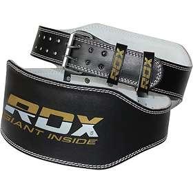 RDX Sports Leather Padded Training Lifting Belt 15cm