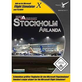 Flight Simulator X: Mega Airport Stockholm Arlanda (Expansion) (PC)
