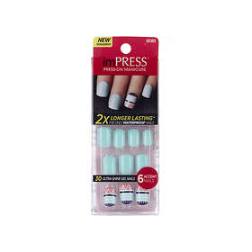 Impress Press-On Manicure Gel False Nails 30-pack