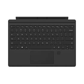 Microsoft Surface Pro 4 Type Cover with Fingerprint ID (Nordisk)