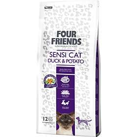 Four Friends Sensi Cat Duck & Potato 12kg