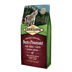Carnilove Cat Hairball Control Duck Pheasant 2kg