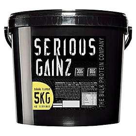 The Bulk Protein Company Serious Gainz 5kg