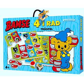 Träspel: Bamses 4 i Rad