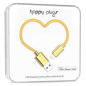 Happy Plugs Deluxe USB A - Lightning 2m