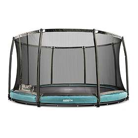 North Trampoline Low with Safety Net 300cm