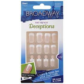 Broadway Nails Deceptions False Nails 24-pack