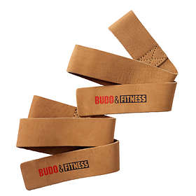 Budo & Fitness Leather Lifting Straps