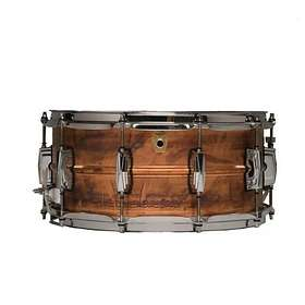 """Ludwig Raw Copper Phonic Snare 14""""x6.5"""""""