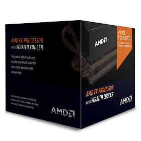 AMD FX-Series FX-8370 4,0GHz Socket AM3+ Box incl. Wraith Cooler