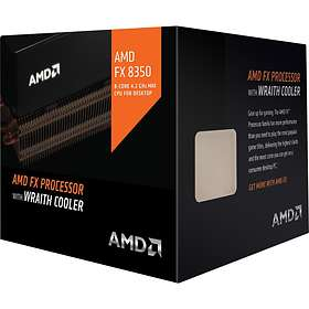 AMD FX-Series FX-8350 4,0GHz Socket AM3+ Box incl. Wraith Cooler