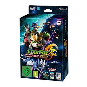 Star Fox Zero - First Print Edition (Wii U)