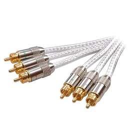 Vivanco SHQ Gold Component 3RCA - 3RCA 1.2m