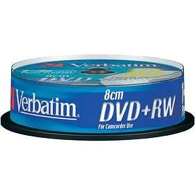Verbatim DVD+RW 8cm 1,4GB 4x 10-pack Spindel