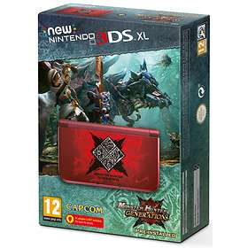 Nintendo New 3DS XL (+ Monster Hunter Generations & Coverplate) - Limited