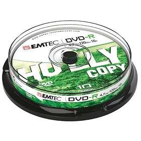 EMTEC DVD-R 4,7GB 16x 10-pack Spindel