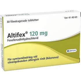 Orifarm Altifex Fexofenadinyhydrochlorid 120mg 30 Tabletter