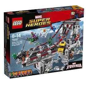 LEGO Super Heroes 76057 Spider-Man Web Warriors Ultimate Bridge Battle