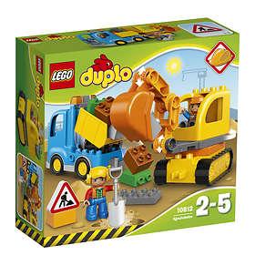 LEGO Duplo 10812 Lastbil Och Grävmaskin