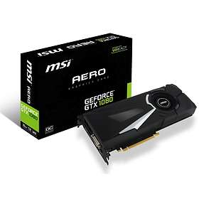 MSI GeForce GTX 1080 Aero OC HDMI 3xDP 8GB