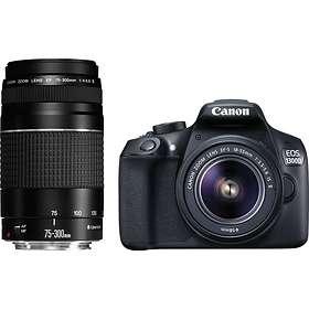 Canon EOS 1300D + 18-55/3,5-5,6 + 75-300/4,0-5,6