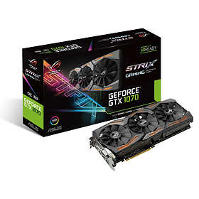 Asus GeForce GTX 1070 ROG Strix Gaming OC 2xHDMI 2xDP 8GB